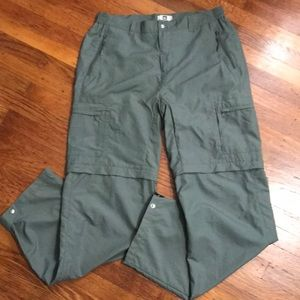 REI Convertible Hiking Pants UPF 50+ Sz 12 Tall
